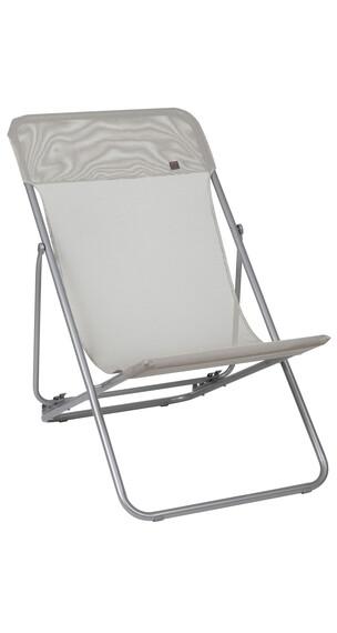 Lafuma Mobilier MAXI TRANSAT Campingstol Classic Batyline grå